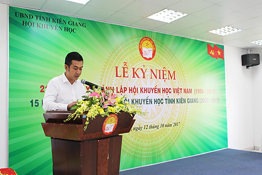 Lễ kỷ niệm 21 năm thành lập HKH Việt Nam và lễ kỷ niệm 15 năm thành lập HKH tỉnh Kiên Giang