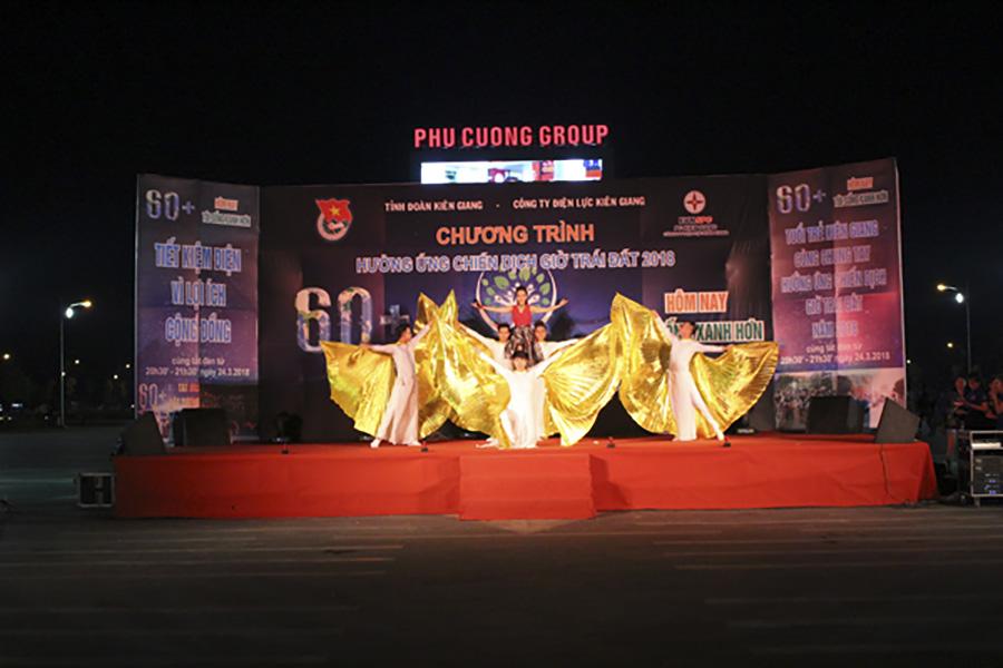 """""""Giờ Trái Đất 2018"""" cập bến Khu đô thị Phú Cường"""