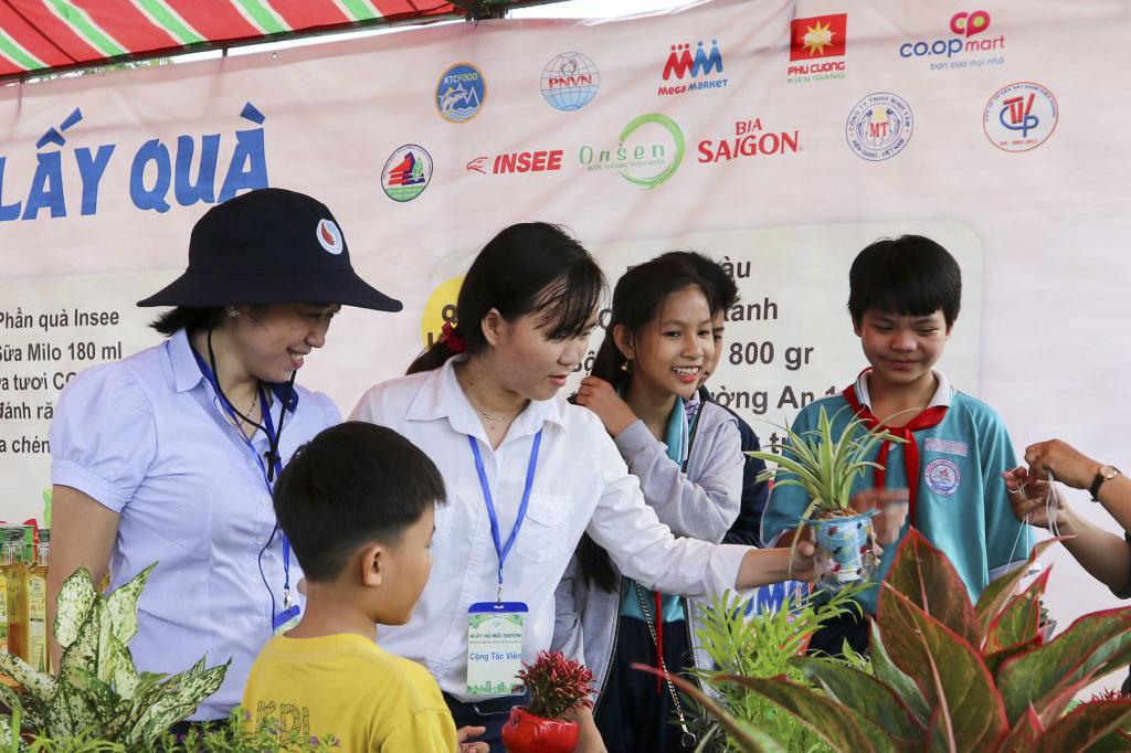 Phú Cường Kiên Giang đồng hành cùng Ngày hội môi trường 2018