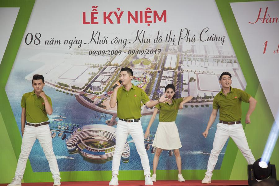 Lễ kỷ niệm 8 năm khởi công KĐT Phú Cường Kiên Giang