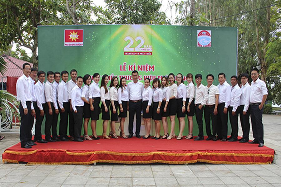 Họp mặt truyền thống và 22 năm kỷ niệm thành lập công ty Phú Cường Cà Mau
