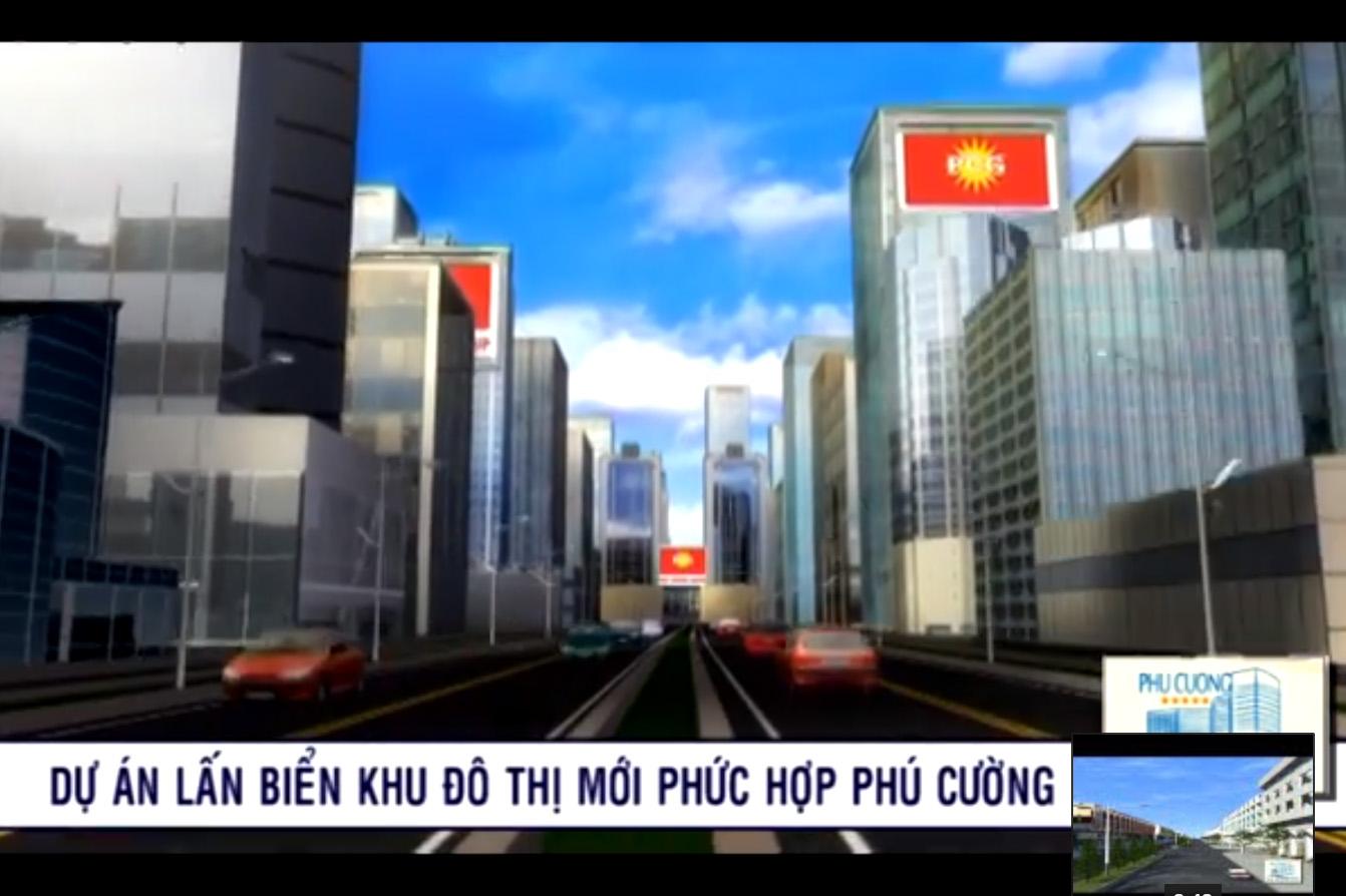 [Video] Dự án Khu đô thị Phú Cường 3D 2010
