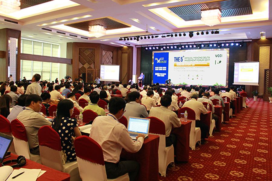 Hội nghị Đầu tư Thường niên vào ĐBSCL lần thứ 5 – Mekonginvest 2017