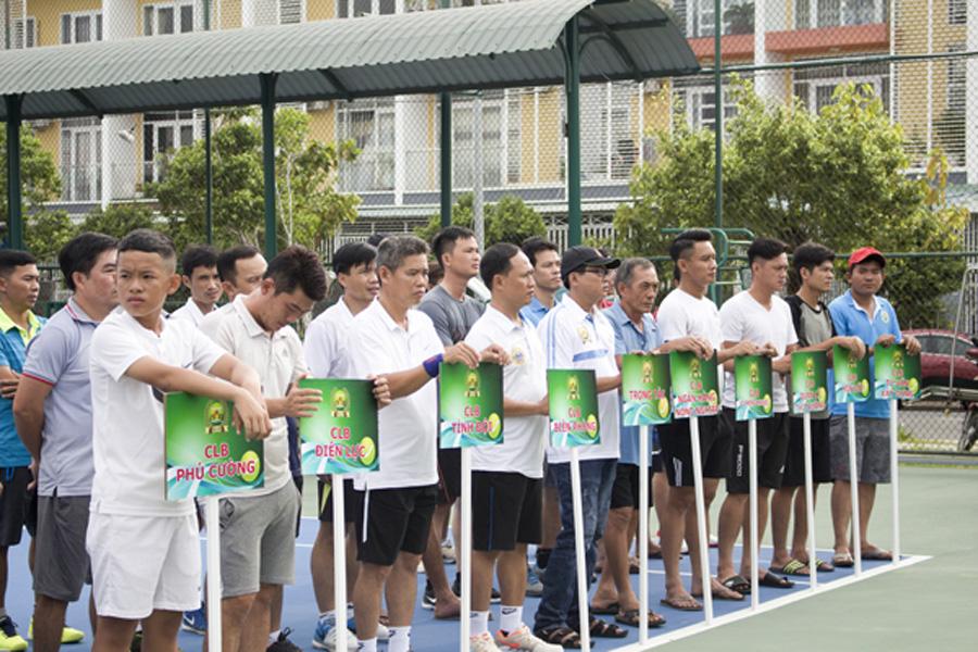 Giải Quần vợt Liên đoàn Quần vợt Kiên Giang Tranh cúp BMB LUMI lần 1 2018