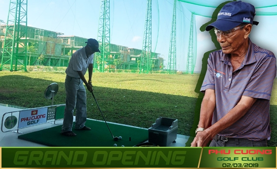 """Gặp gỡ """"Cây đại thụ"""" trong làng Golf Việt Nam tại Phu Cuong Golf Club"""