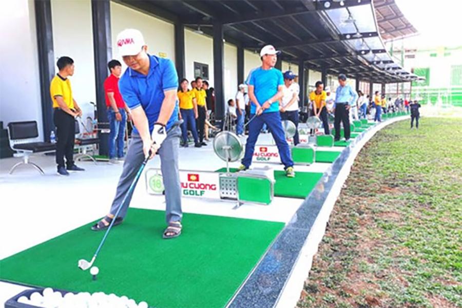 10 tỷ đồng đầu tư sân tập đánh golf ven biển Kiên Giang