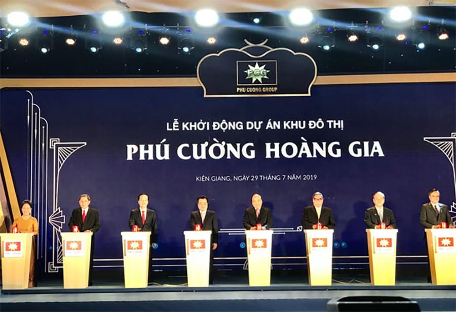 Thủ tướng Nguyễn Xuân Phúc khởi động dự án 8.000 tỉ lấn biển ở Kiên Giang