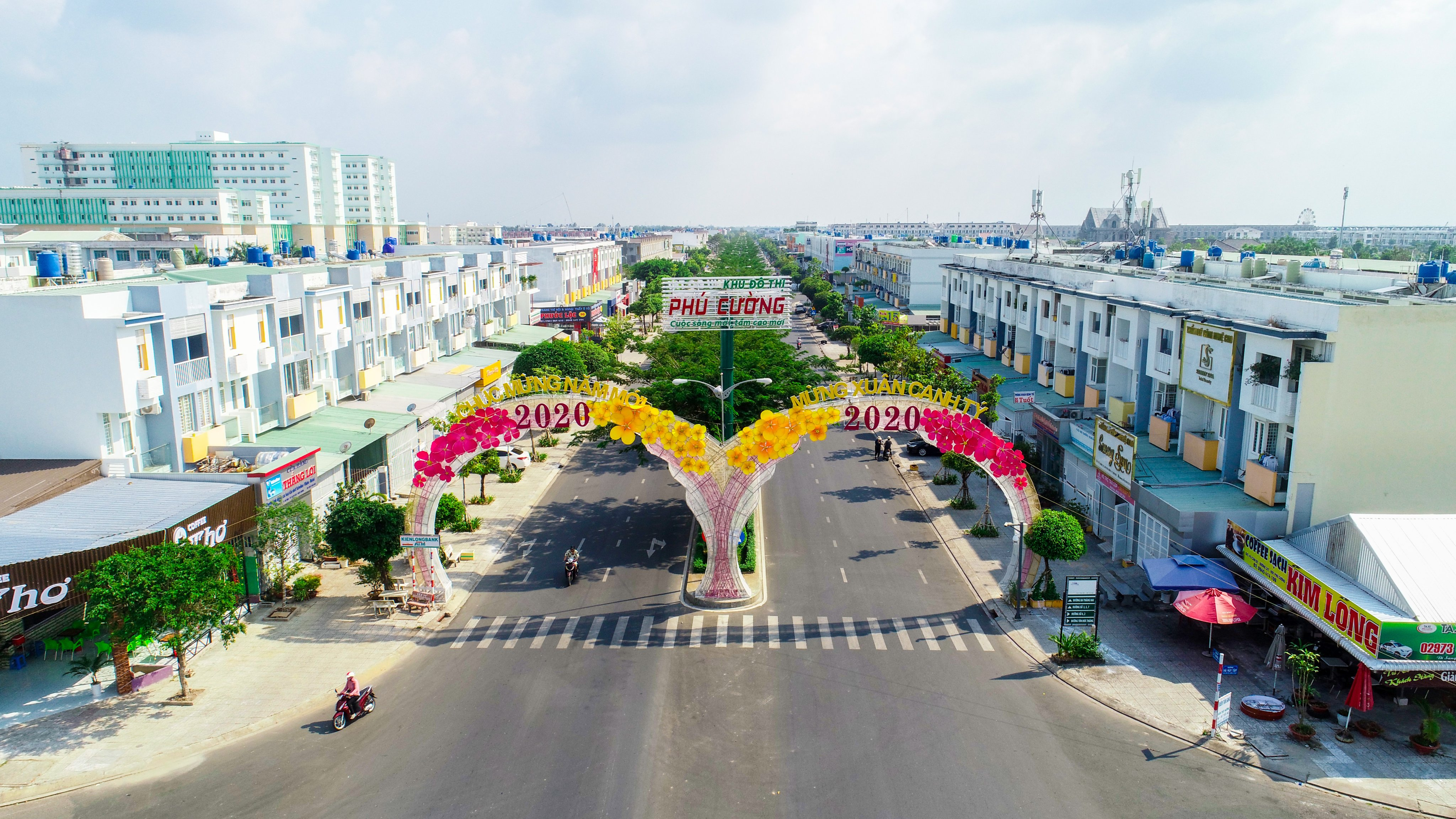 KĐT Phú Cường – Thành phố Rạch Giá rực rỡ sắc màu đón chào năm mới 2020