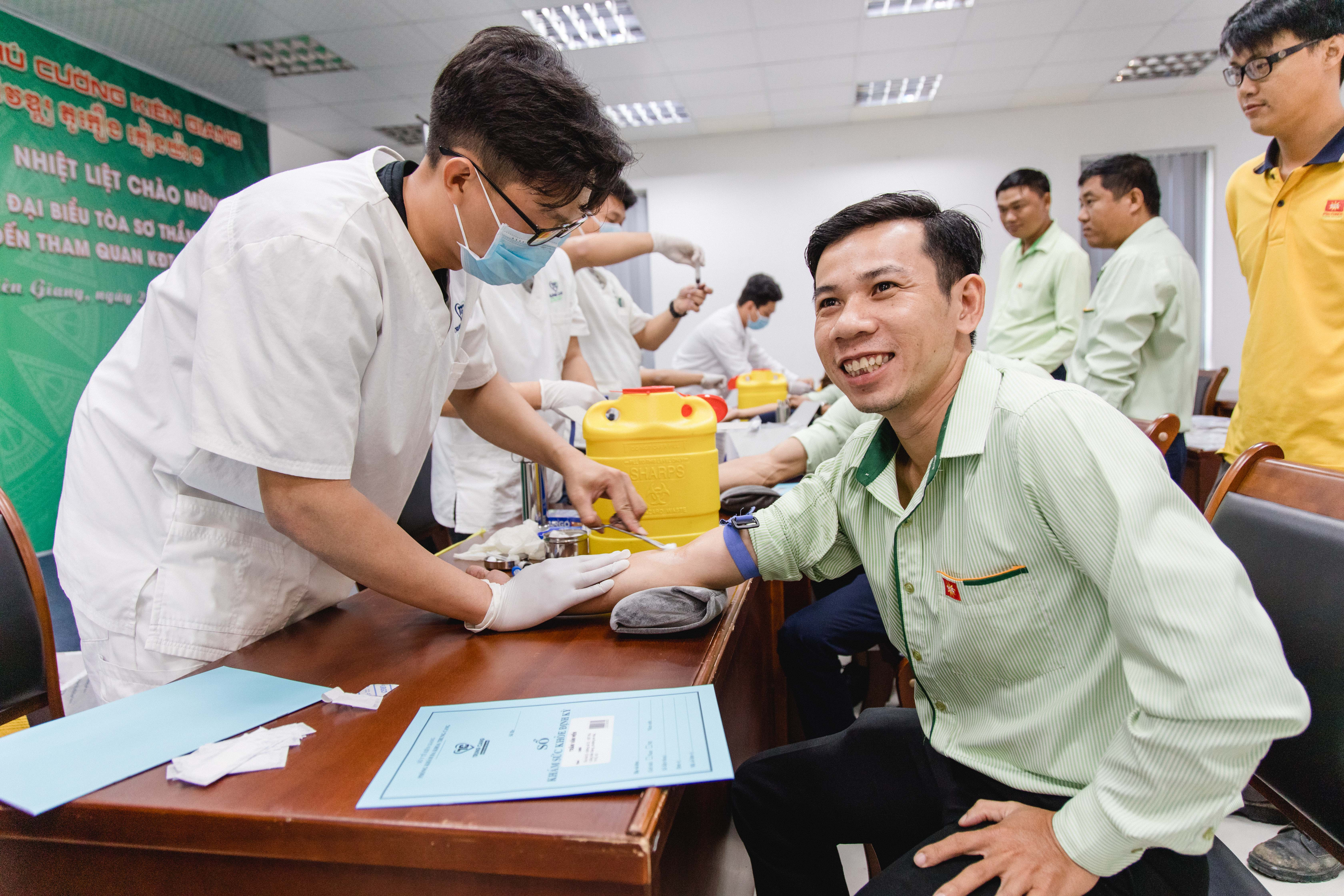 Phú Cường Kiên Giang tổ chức khám sức khỏe cho CBNV