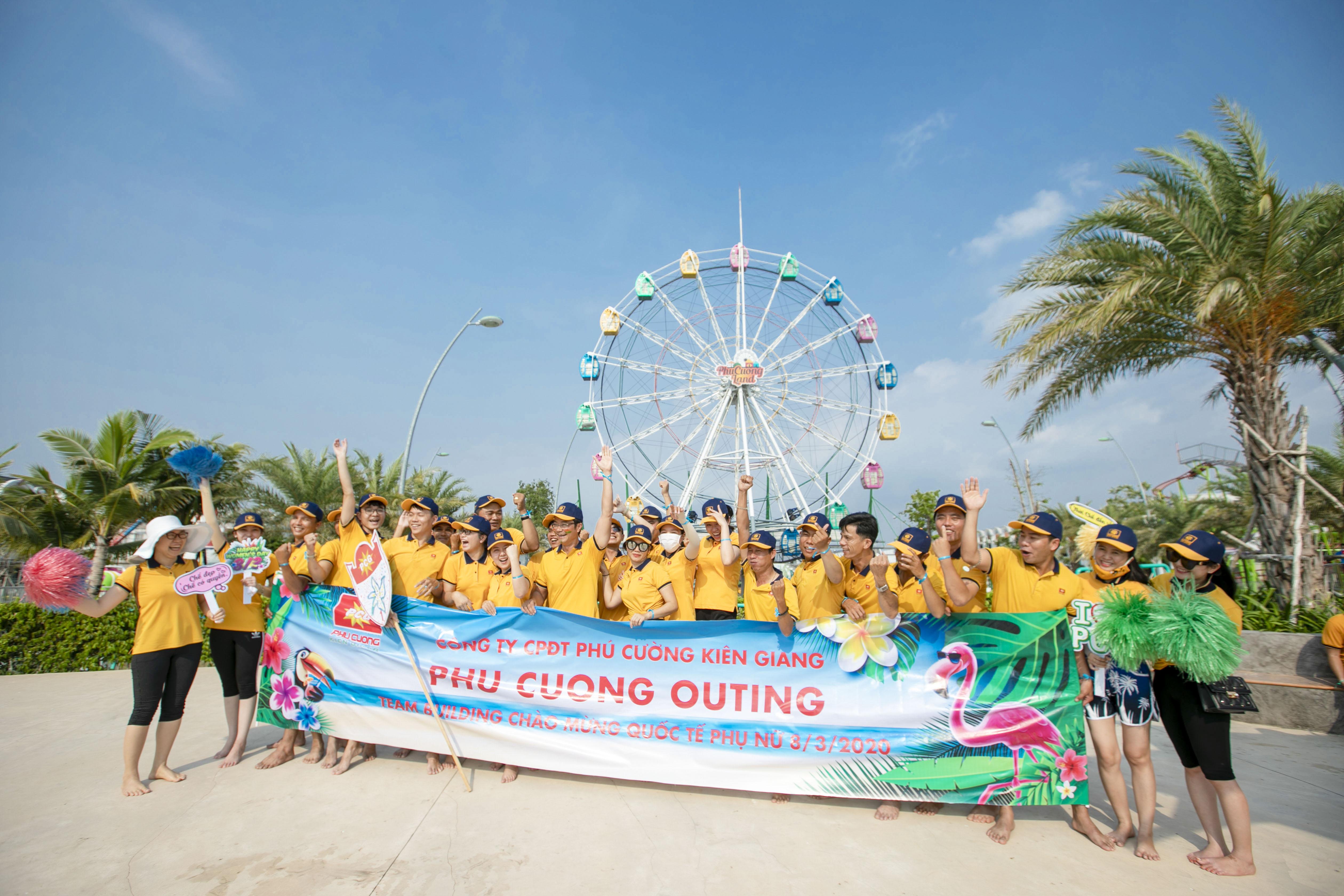 Phu Cuong Outing chào mừng Quốc tế Phụ nữ 8/3/2020